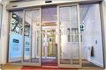 partição automática portas de vidro deslizantes com fram de alumínio