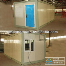steel structure sandwich wall panel modular container homes