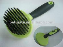 Nylon bristle brush for pet shower