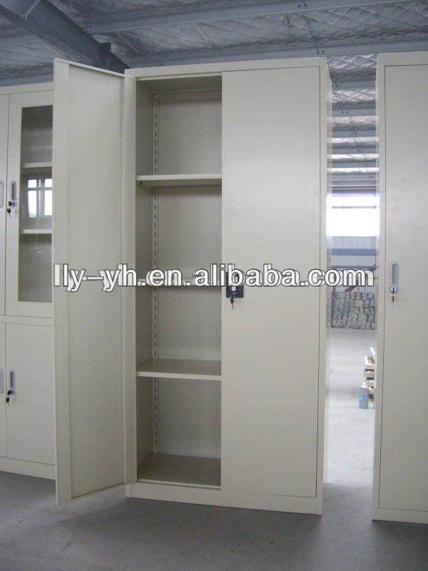 GO Steel Double Door Cupboard Grey W914xD400xH1829mm