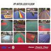 Sports Interlock Floor Basketball Plastic Flooring