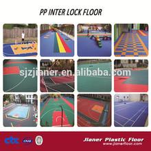 Sports Interlock Floor Plastic Basketball Flooring