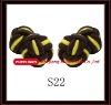 fashion elastic silk knot cufflinks for women men