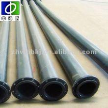 Meet ANSI , JIS , BS , DIN Standard Rotproof Rubber Lined Pipe