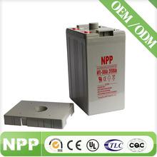 2V 500AH Off Grid Solar Power System VRLA Sealed Lead Acid Battery