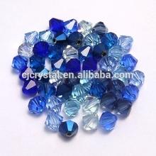 Vidrio cristalino de arte de bicone del grano grueso fábrica directamente el precio