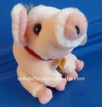 new design pink plush pig