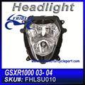 faros de luz la cabeza de montaje de la lámpara para suzuki gsxr gsxr1000 1000 03 04 fhlsu010