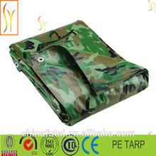 camouflage tarp waterproof canvas fabric tarp shelters