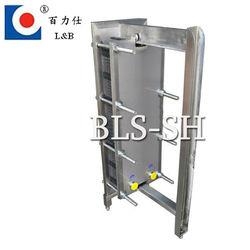 Sanitary stainless steel plate heat exchanger (BLS)