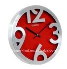 new design aluminum quartz antique wall flip clock(IH-6756B)