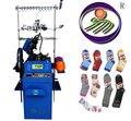 três alimentador simples máquina de tricotar meias para venda