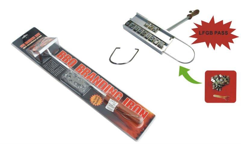 Bbq hierro de marcar con cambiable letras para - Letras de hierro ...