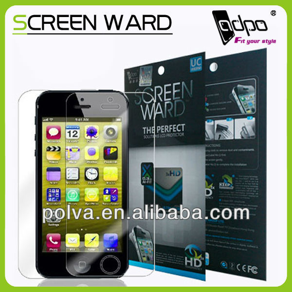 Manufacturer!! Perfect Fit Ultra Clear Screen Protector For Iphone 5s