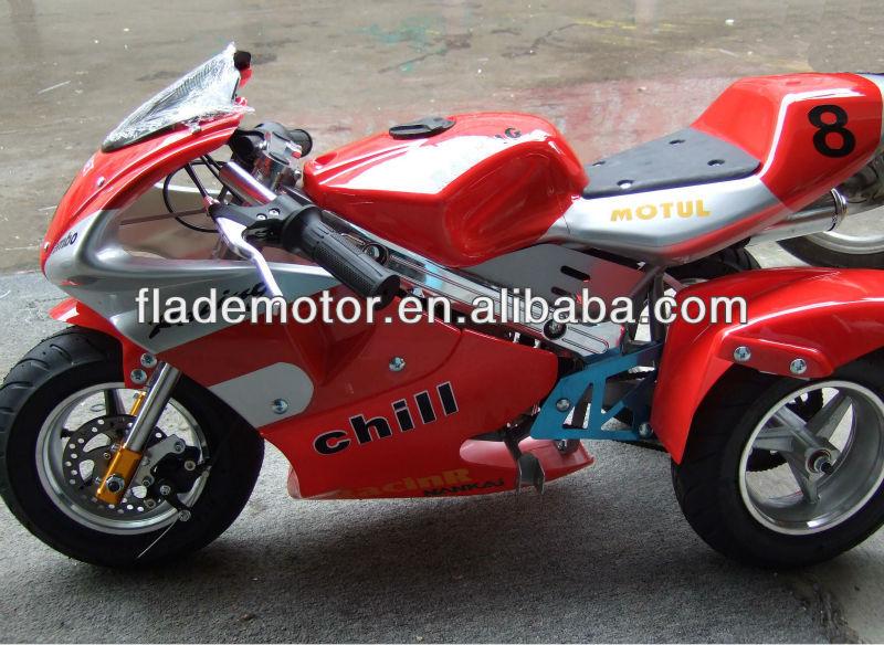 Tres ruedas pocket bike 49cc fld-pb493