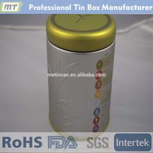 round tea tin can wholesale with good price, tea tin can