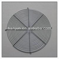 Chrome spiral fan guard,fan grill/wire fan cover