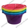 Plastic wash tub,flexible laundry basin