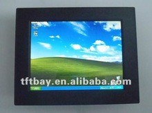 Wide temperature/1024X768 resolution 12.1 inchD525 series Fanelss panel pc for embedded board