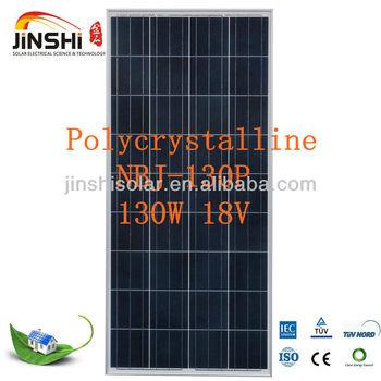 120W 130W 135W 140W 150W 18V poly Solar Panel (Solar Module,PV panel ) for solar system