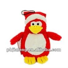 Custom Soft Plush Toys Christmas Pet Penguin