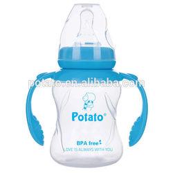 Small PP transparent baby feeding bottle OEM