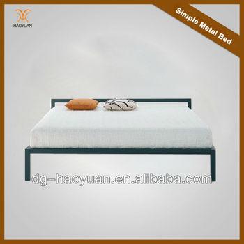 simple metal frame  Simple Design Metal Bed