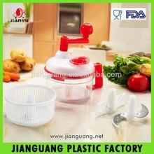 plastic super food mixer vegetable chop for kitchen