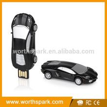 customized car shape usb memory with full capacity