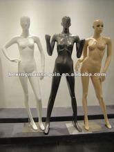Fashion design female fiberglass mannequin