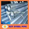 Q195-Q345 hot dip galvanized steel pipe supplier