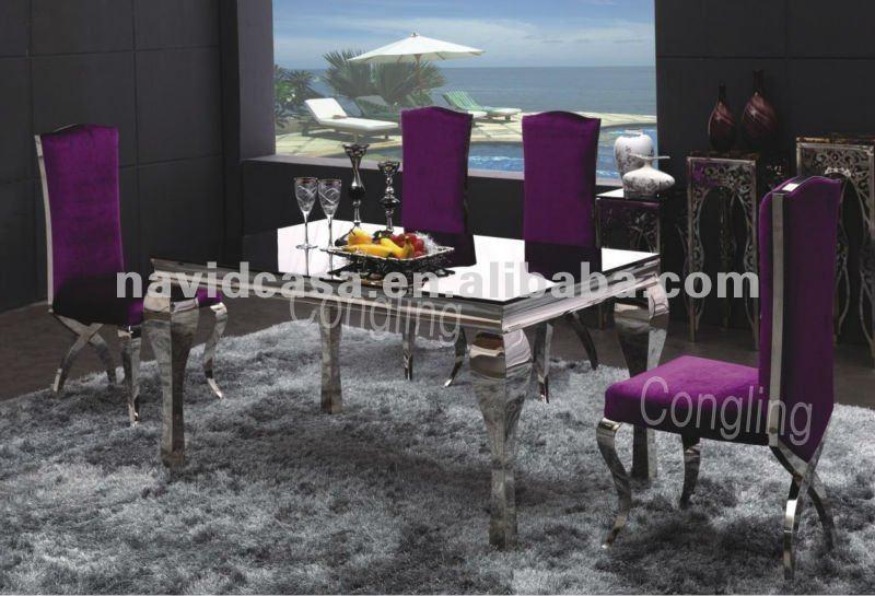 A8028 liste de prix de luxe salle manger de table table for Table de salle a manger luxe