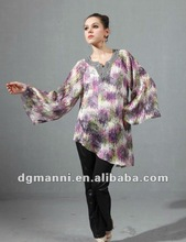 Blouse designs 2012 of lady clothing