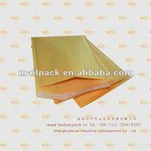 Gold kraft bubble envelope