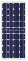 100W mono solar panel for solar system