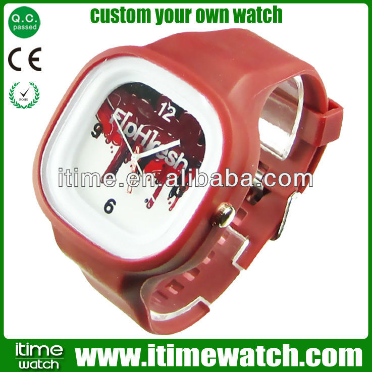 Watch Movement Logos Jelly Watch Swiss Movement