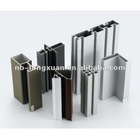 Industrial aluminium profiles used in different areas made in Zhejiang China