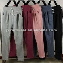Bonne qualité Lady Yoga Casual pantalons 2014 nouvelles filles coréennes vêtements , Plus la taille l - 3xl femmes Sport marque pantalons larges