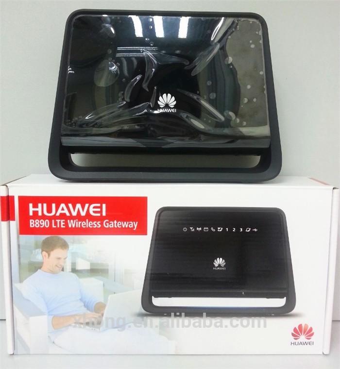Unlock 100mbps Huawei B890 sim card slot 4g Lte Wireless Router