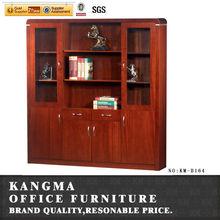 modern fashion design mdf wood veneer storage cabinet B164