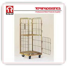 folding transport rolling cage cart (L800*W712 mm/OEM)