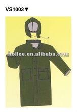wateproof plastic rain suit for men