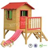 Arch Roof Wooden Kennel