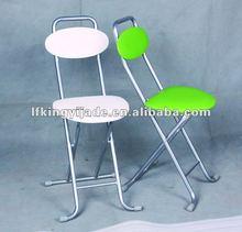simple metal folding dining chair