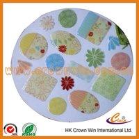 decoration crown designer crown colorful soft epoxy sticker