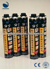CE PU Polyurethane Aerosol Foam Manufacturer Construction Window Door Filler