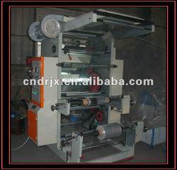 Two colors Flexible Letter Press,Plastic film Flexography printing machine