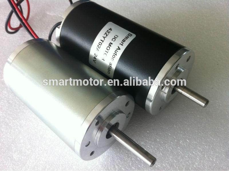 O D42mm High Torque Brush Pmdc Motor 12v 24v 36v 40v