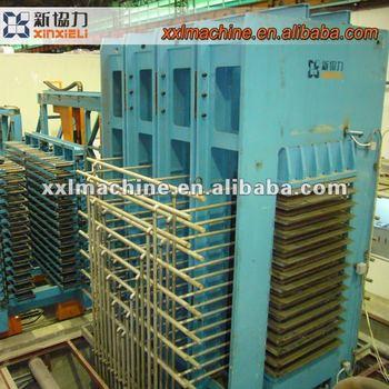 HPL A multi-layer hot press