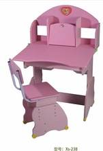 2014 hot sell colorful children study desk and chair